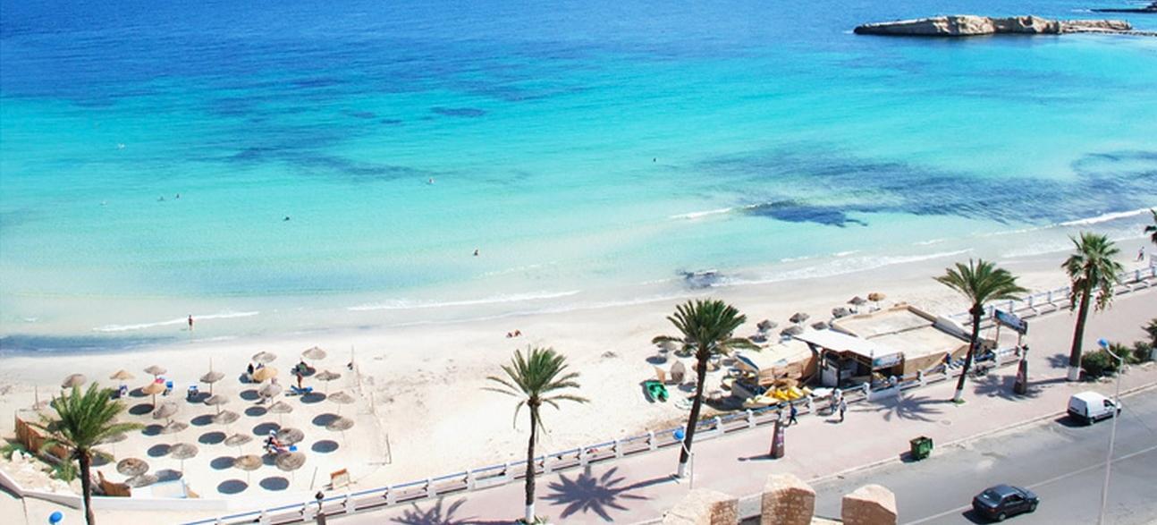 Big tunisia beach