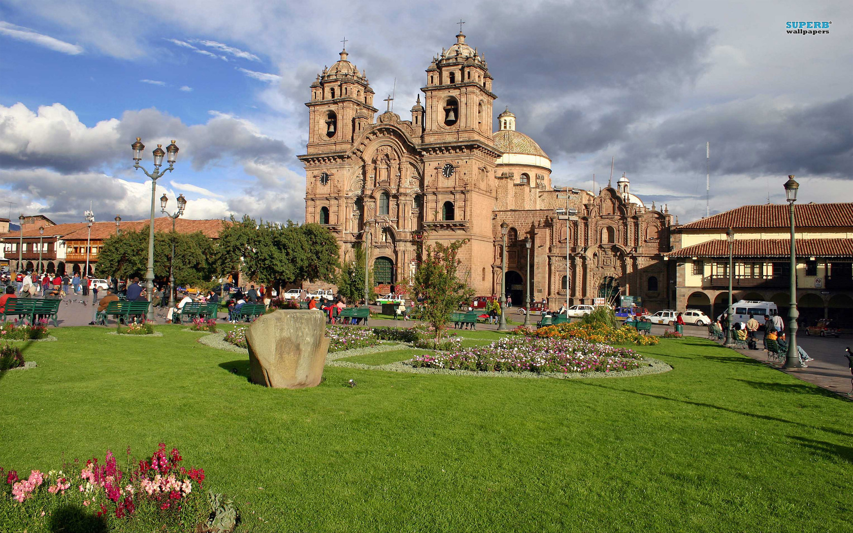 Big cathedral of santo domingo 13785 1680x1050