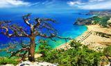 Small fantastic beaches of greece   tsambika bay on rhodes island