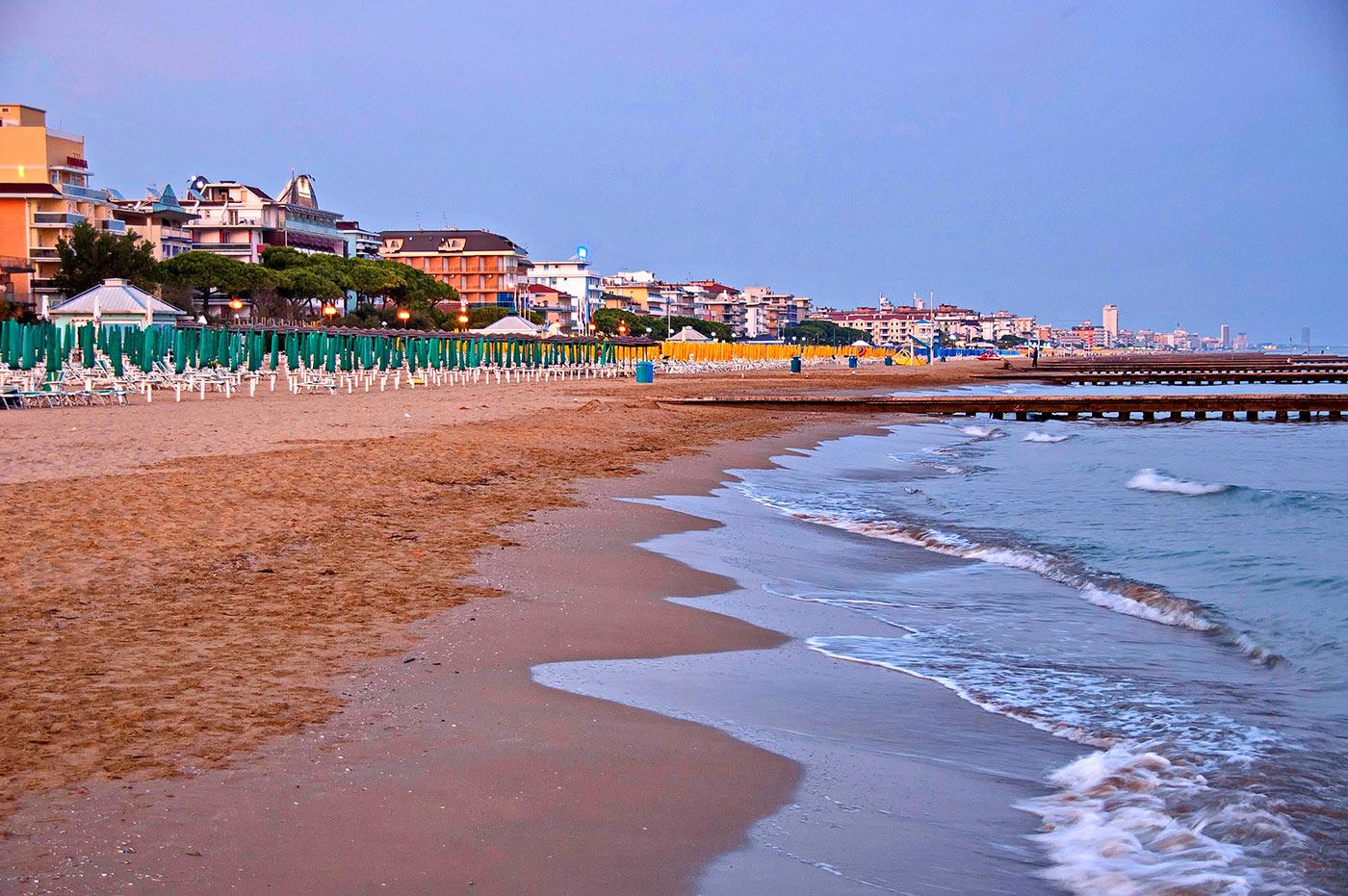 Big lido di jesolo adriatic sea italy