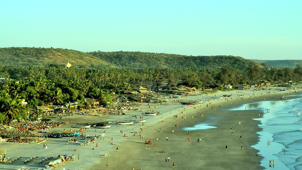 Big goa arambol beach