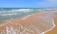 Море и песок в Анапе