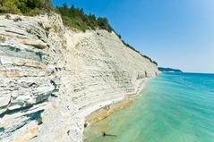Песочек и водопады в Геленджике